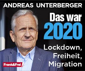 Buch von Anderas Unterberger: Das war 2020 - Lockdown, Freiheit, Migration