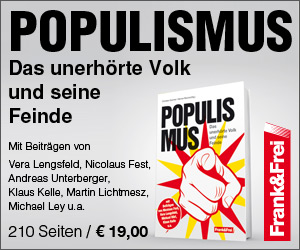 Populismus - das unerhörte Volk und seien Feinde