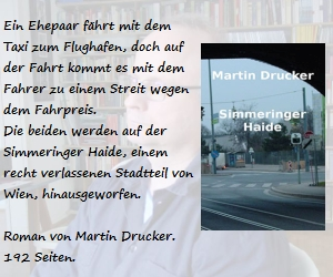 Martin Druckers neuer Roman